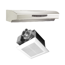 Ventilation Fans and Kitchen Hoods